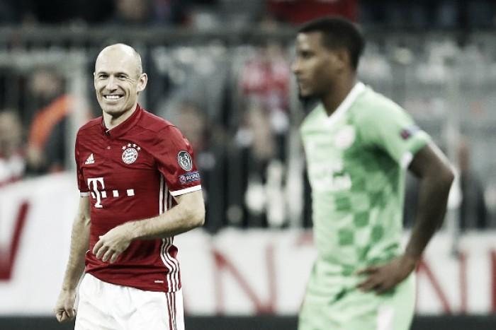 """Destaque na vitória do Bayern, Robben celebra: """"Nós jogamos muito bem"""""""