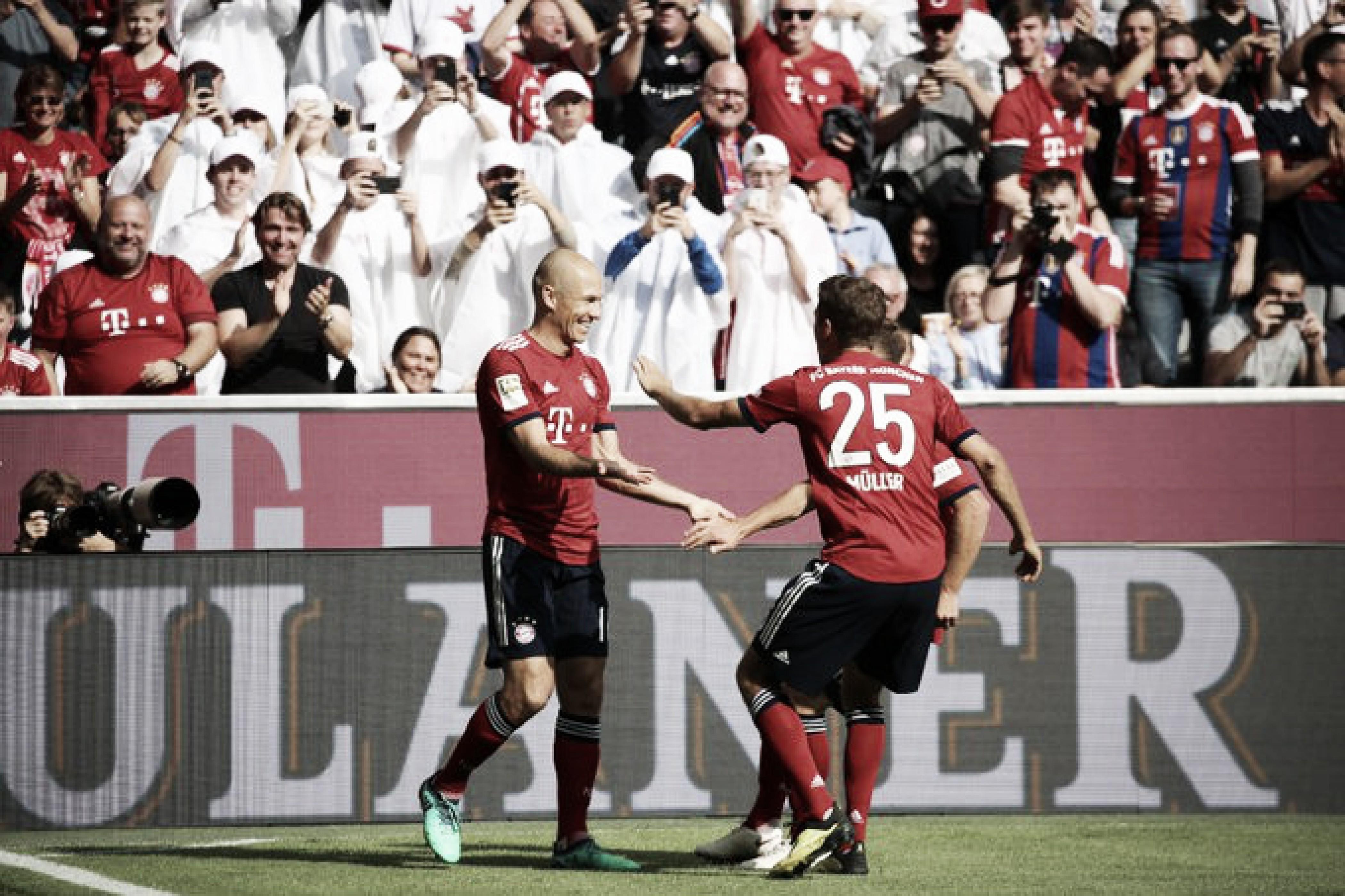 Bayern a la cabeza de la Bundesliga desde la tercera jornada