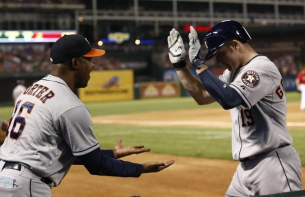 The Drought Is Over, Astros Sweep The Rangers