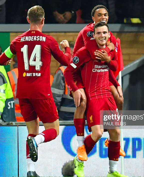 Liverpool 4-3 FC Red Bull Salzburg: Reds recover to win seven-goal thriller
