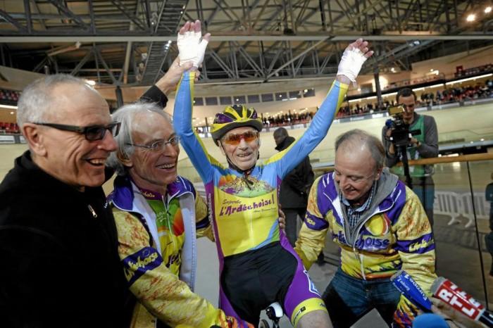 Ciclismo: Robert Marchand nella storia all'età di 105 anni