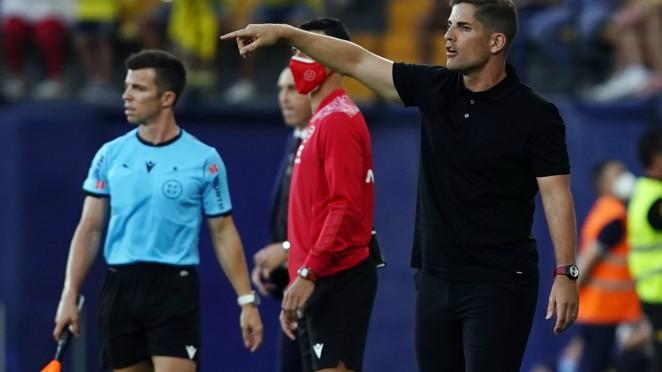 """Robert Moreno: """"El equipo ha estado serio"""""""