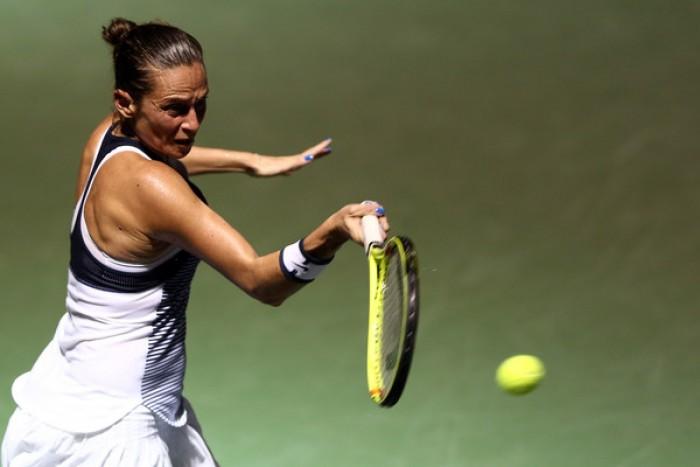 WTA Miami - Il programma: Roberta Vinci sfida la Keys