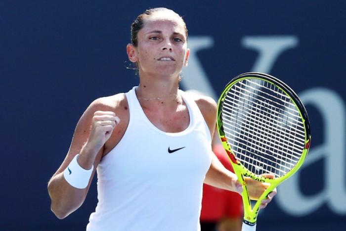 WTA New Haven, buon esordio per Roberta Vinci