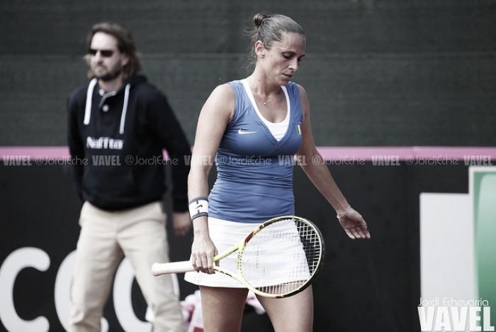Roberta Vinci se retirará al término del WTA de Roma