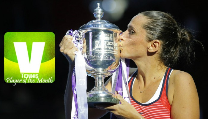 Roberta VinciNamed VAVEL USA's WTA Player Of The Month For February