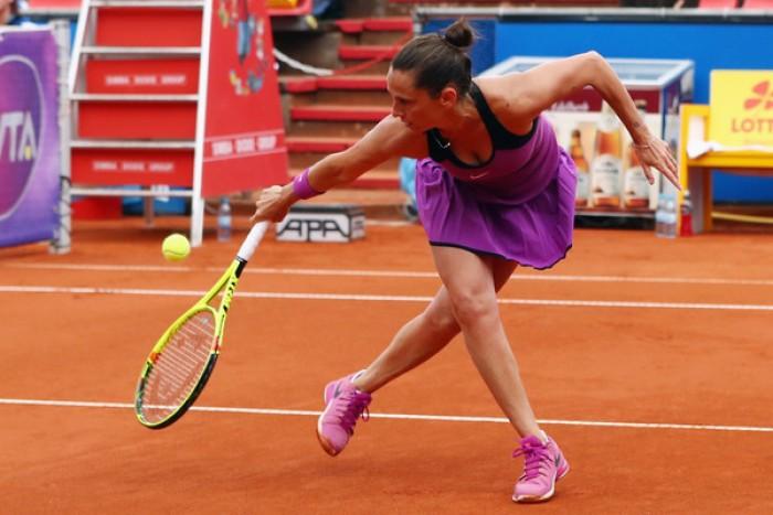 WTA - Il programma a Strasburgo e Norimberga, la Vinci affronta la Bertens
