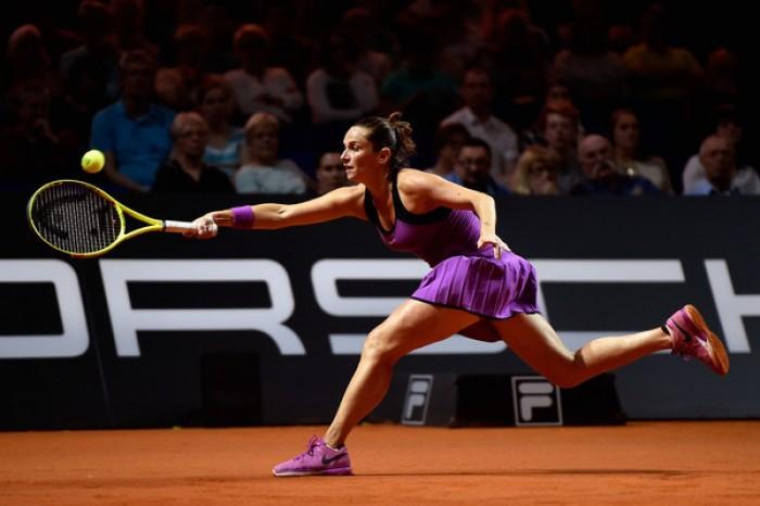 WTA Stoccarda - Vinci per la semifinale, spettacolo sul Centrale
