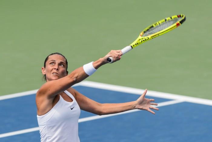 WTA - Cincinnati, la Vinci batte la Pironkova e oggi sfida la Suarez Navarro