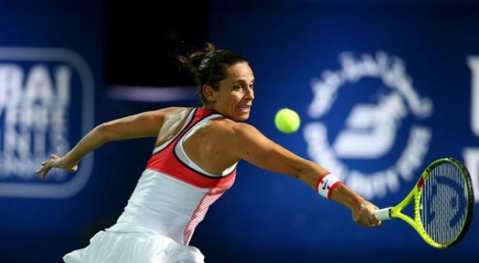 WTA Doha, esame turco per la Vinci