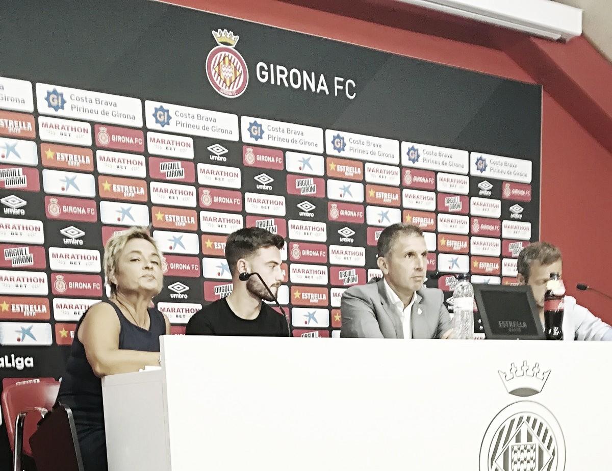 "Patrick Roberts: ""He venido al Girona para jugar este tipo de partidos"""