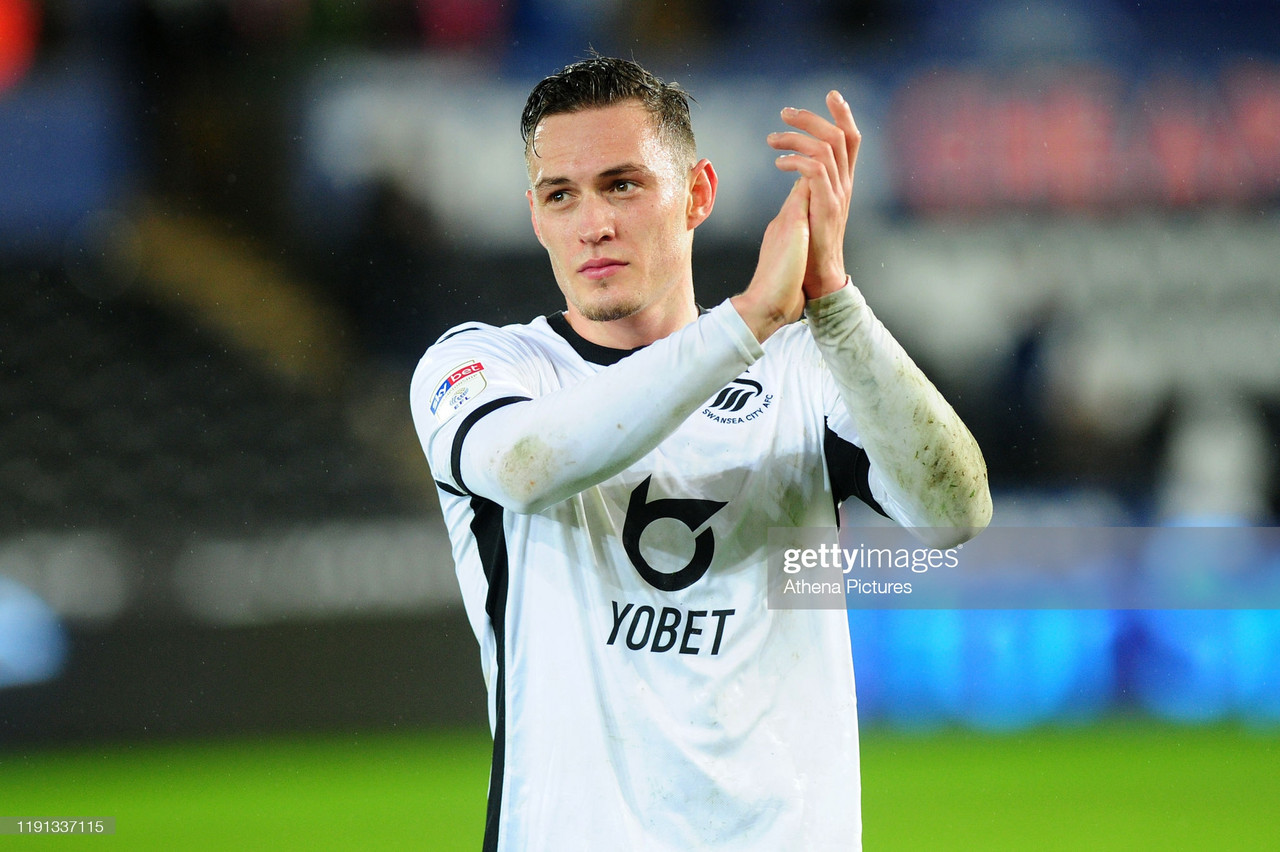 Connor Roberts joins Burnley from Swansea City