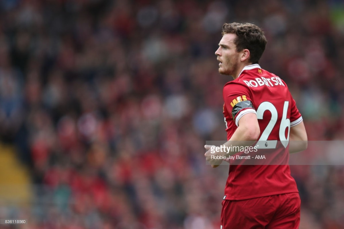 Andy Robertson influencing Liverpool on and off the pitch as he nears unlikely cult hero status