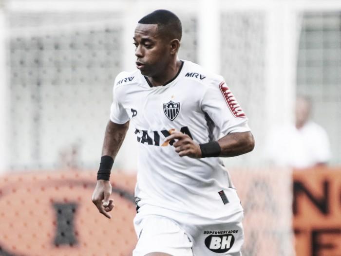 Robinho comenta pênalti perdido e reprova atitude de zagueiro do América-MG