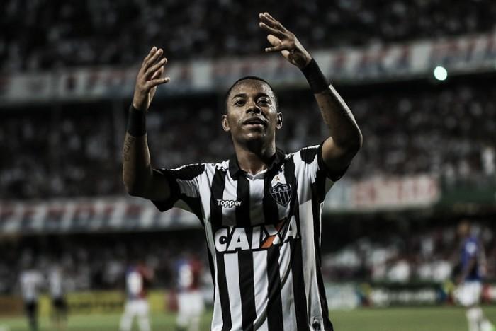 """Robinho vê derrota injusta contra Paraná, mas pondera: """"Resultado é bom"""""""