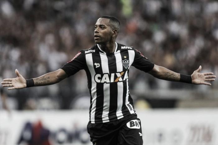 """Após perder título mineiro, Robinho ressalta mudança no foco: """"Agora é Libertadores"""""""