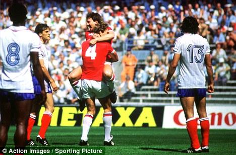 Históricos de San Mamés V: Inglaterra - Francia, duelo de selecciones en el 82