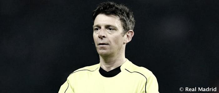 Gianluca Rocchi, árbitro del encuentro