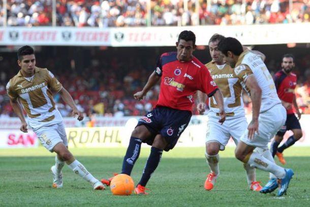 Pumas rescata el empate en Veracruz
