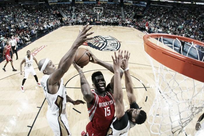 Pelicans detienen el andar triunfal de Rockets