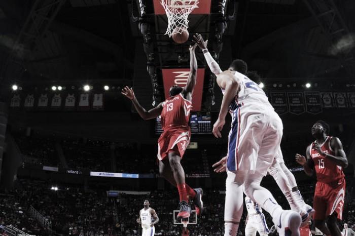 Los jóvenes Sixers amargan a los Rockets