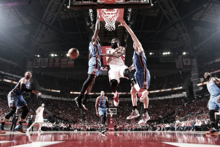 Rockets avanzan, con triunfo sobre Thunder