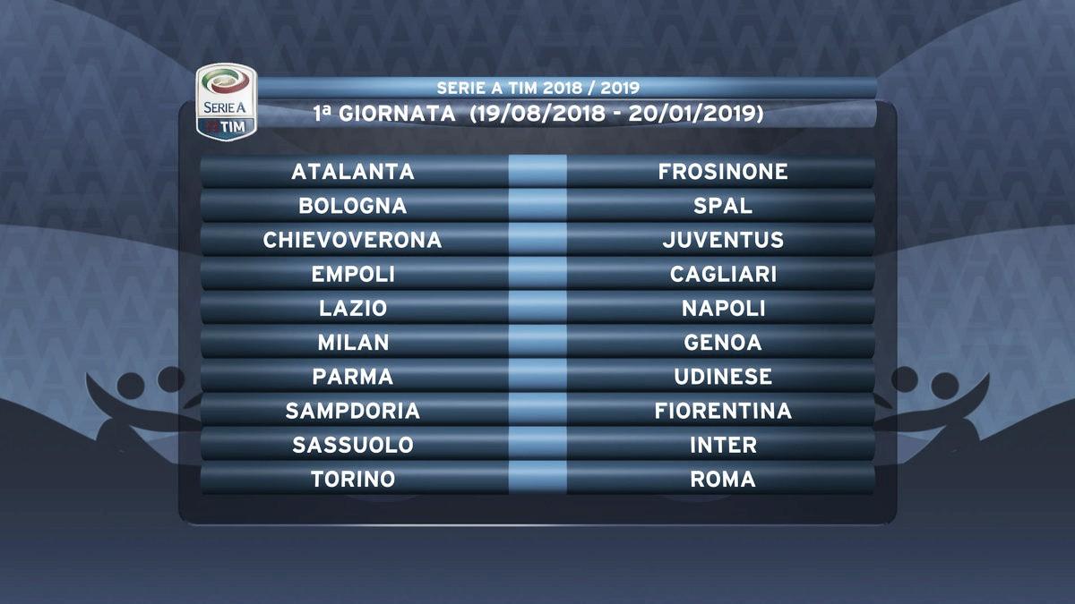 Com possível estreia de Ronaldo em Verona, Serie A anuncia tabela da temporada 2018-19