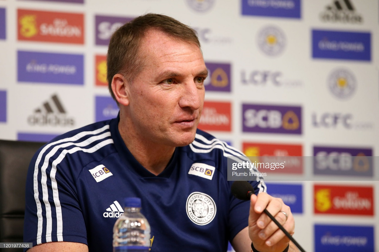 """Brendan Rodgers believes finishing seventh would """"not be good enough"""""""