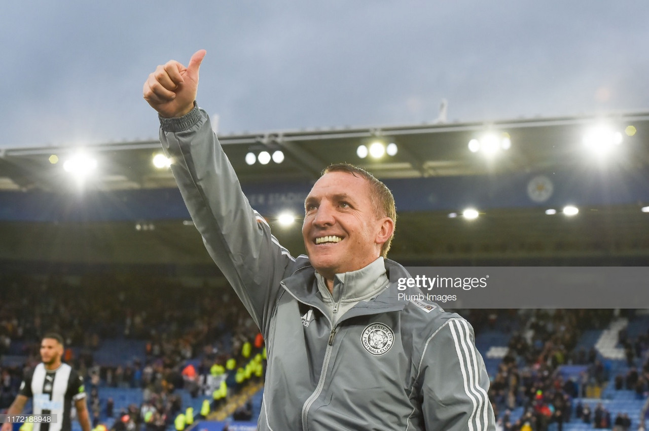 Rodgers thrilled with Leicester 'appetite' in ruthless Newcastle United mauling