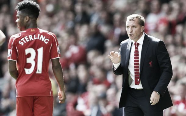 """Brendan Rodgers: """"We'll find a solution with Raheem's contract"""""""