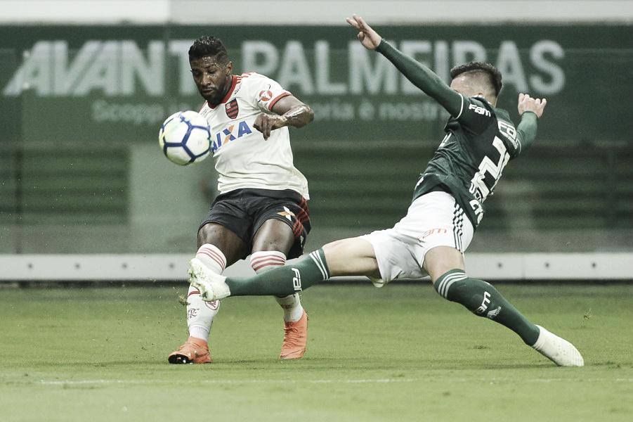 Últimos jogos entre Flamengo e Palmeiras reservaram emoção, gols e polêmica de sobra
