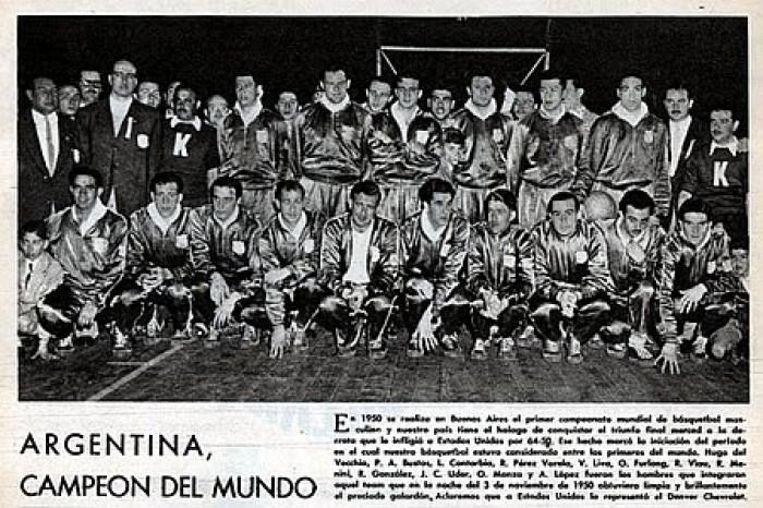 1950-1960: de la alegría del Mundial a la tristeza por la intervención de la CABB