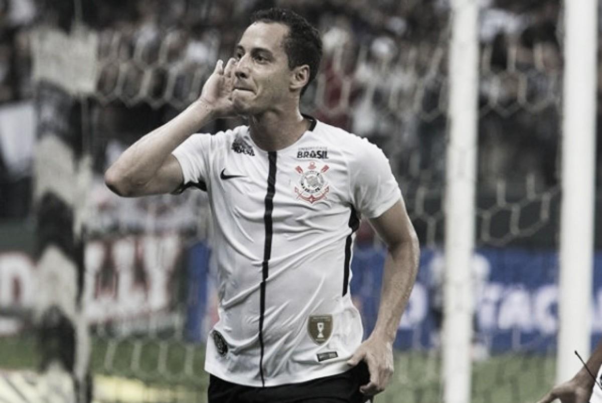 Com golaço de Rodriguinho, Corinthians reestreia com vitória sobre Botafogo em casa