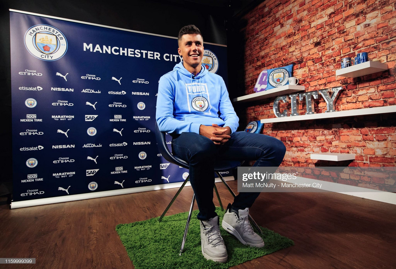 Rodri happy with start to life at City