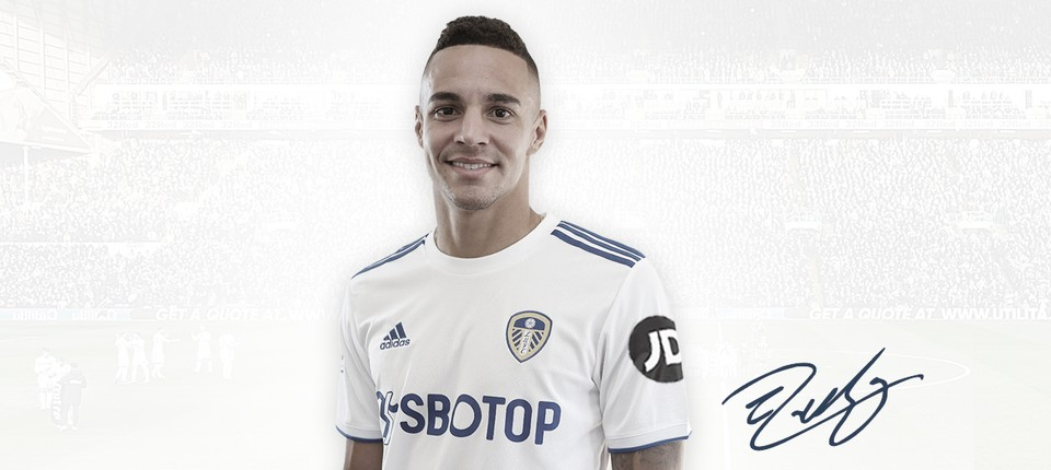 Ex-Valencia, atacante Rodrigo Moreno é anunciado pelo Leeds United