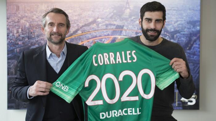 Rodrigo Corrales elige el Paris Saint-Germain