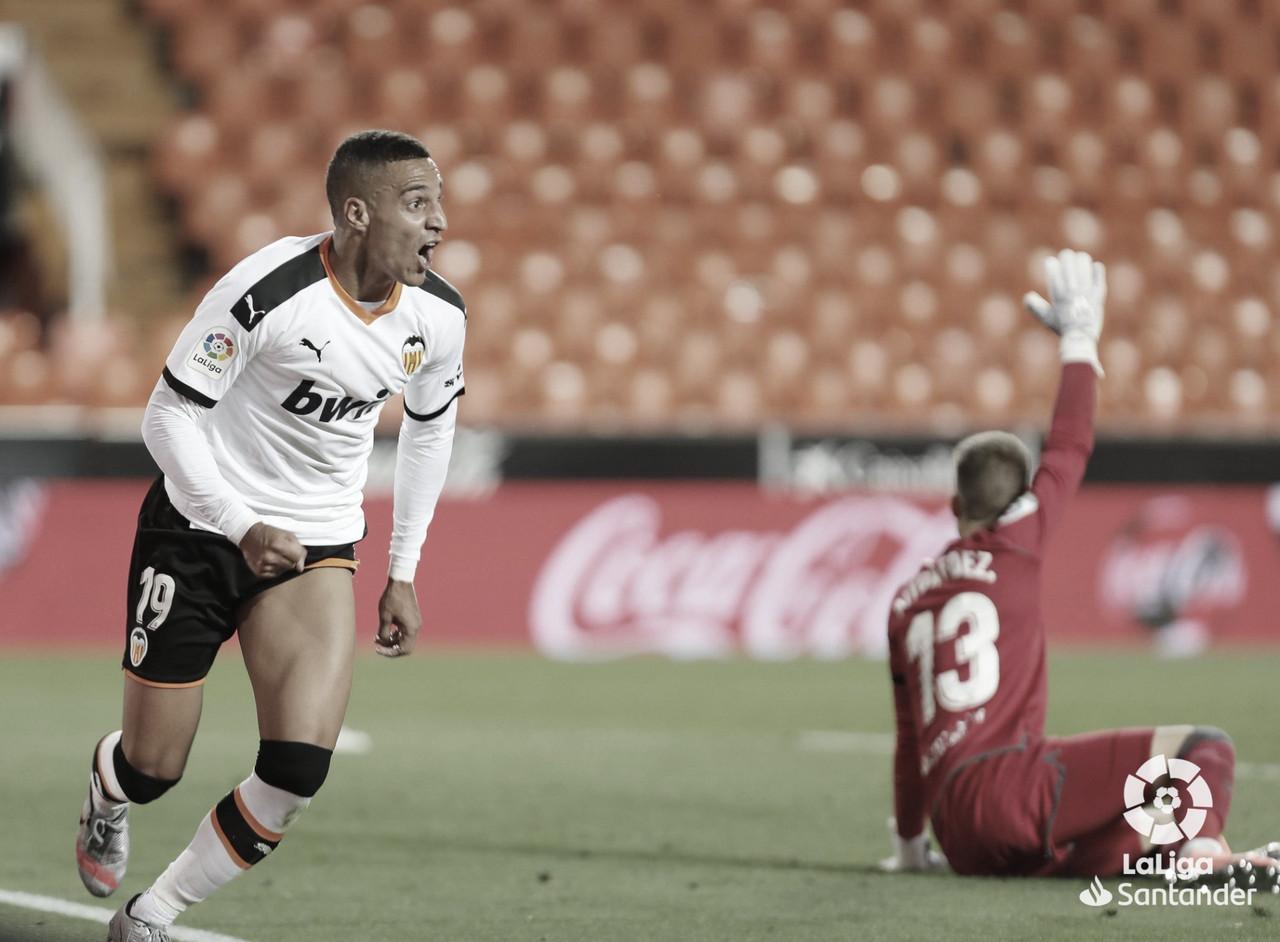 """Rodrigo Moreno: """"Creo que merecimos ganar"""""""