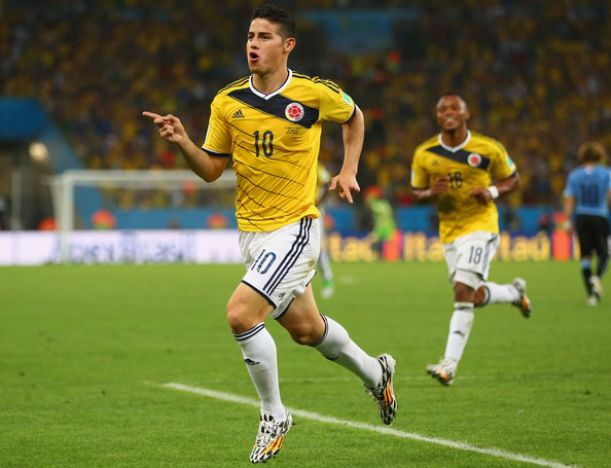Rodriguez key to upset in quarter final says Fernandinho