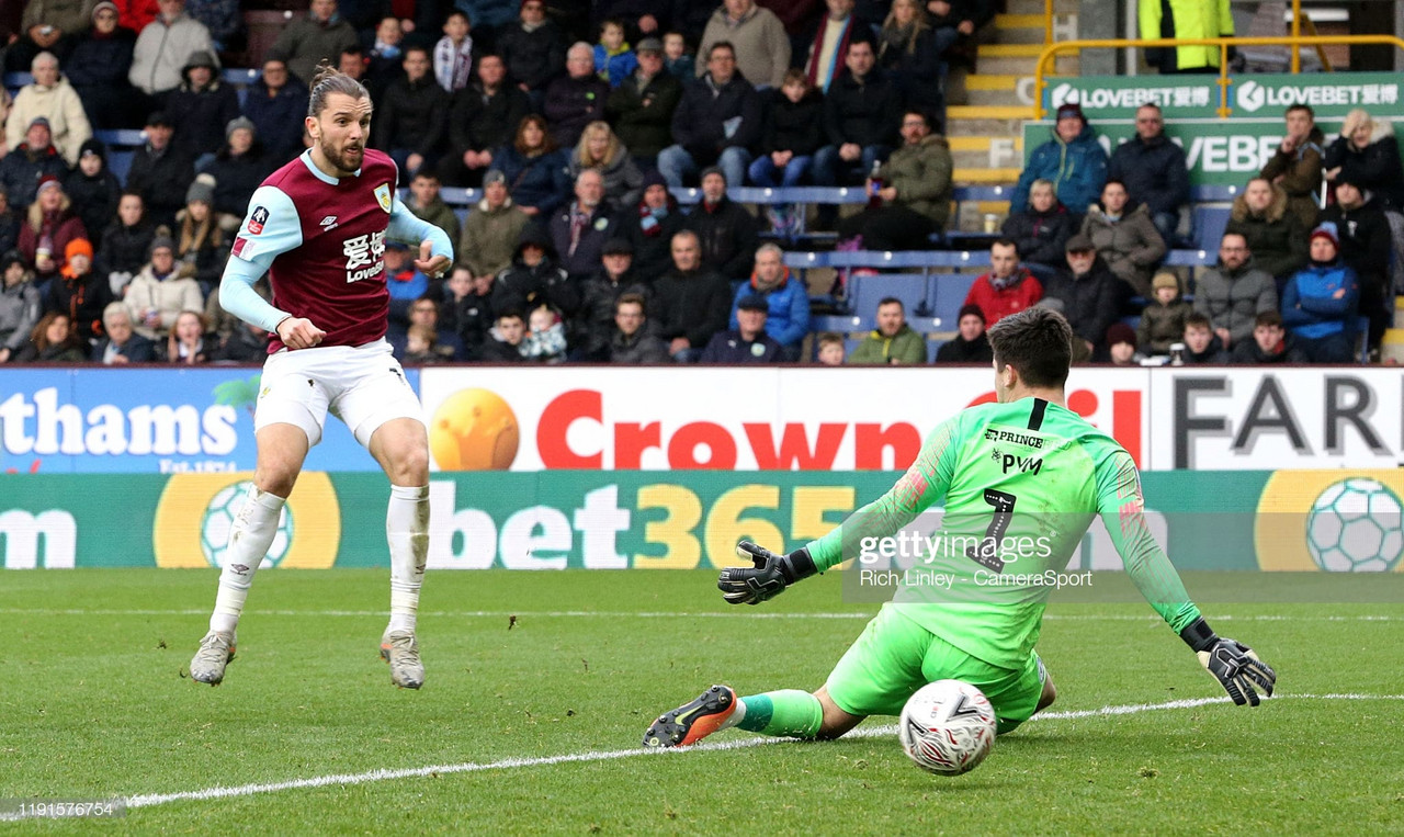 Burnley 4-2 Peterborough United: Clarets too strong for League 1 Posh