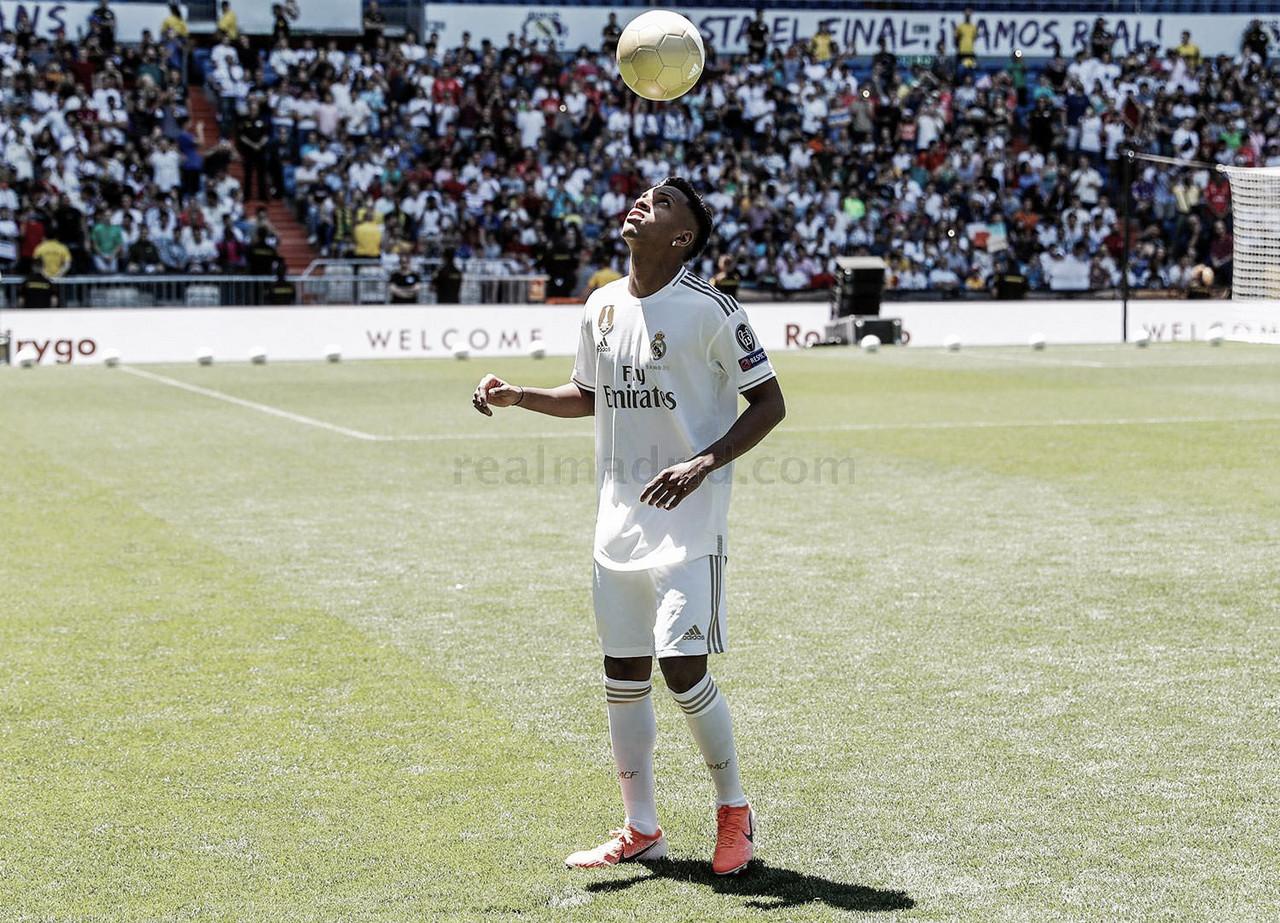 "Rodrygo Goes, presentado: ""Me identifico con Neymar o Robinho"""