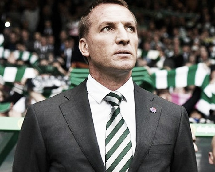 Brendan Rodgers comemora goleada e classificação do Celtic na Champions League