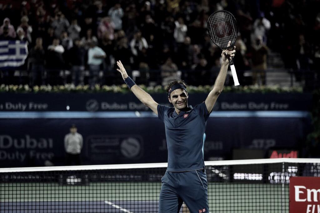 Roger Federer llega a 100 títulos en la ATP
