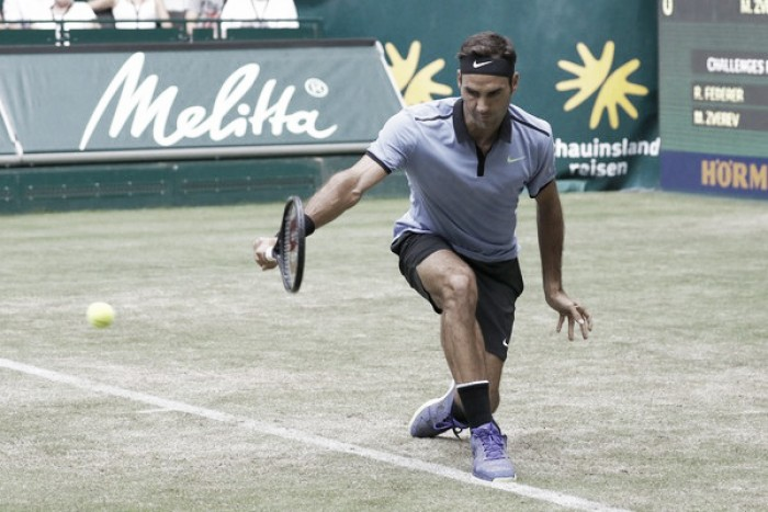 Federer continúa a toda máquina