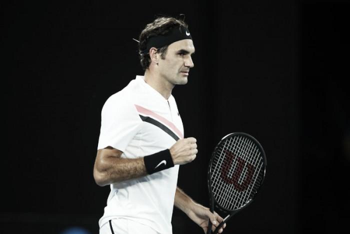 Federer bate a Berdych y se planta en las semifinales