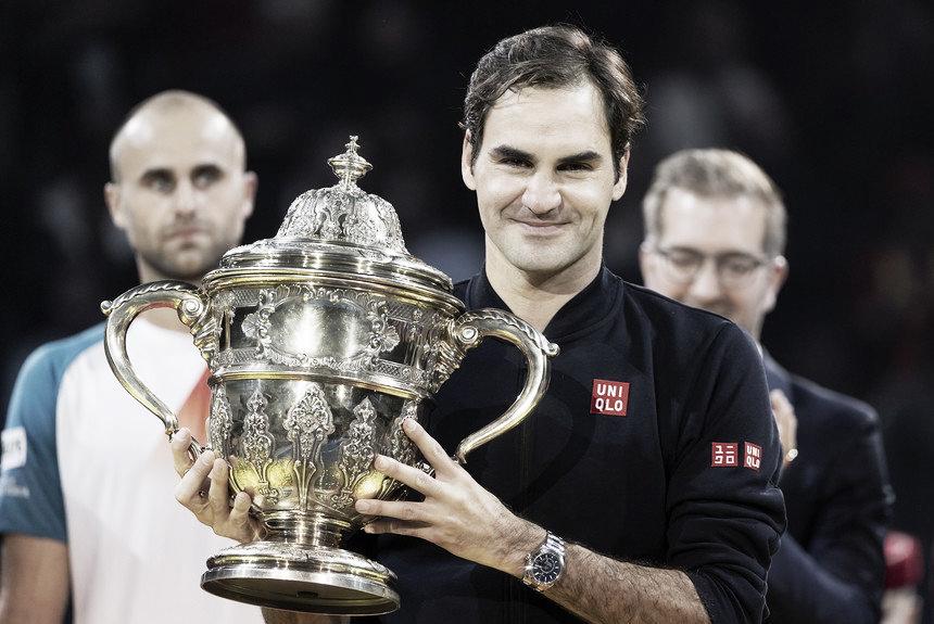 Federer se coronó campeón en Basilea