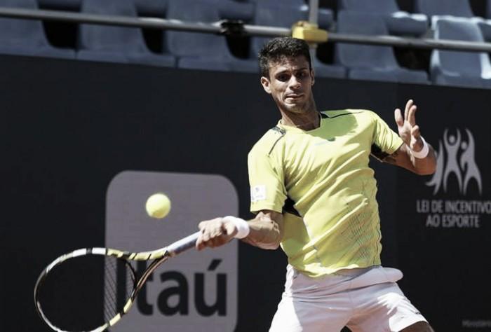Rogério Dutra Silva, o segundo brasileiro mais bem ranqueado na ATP