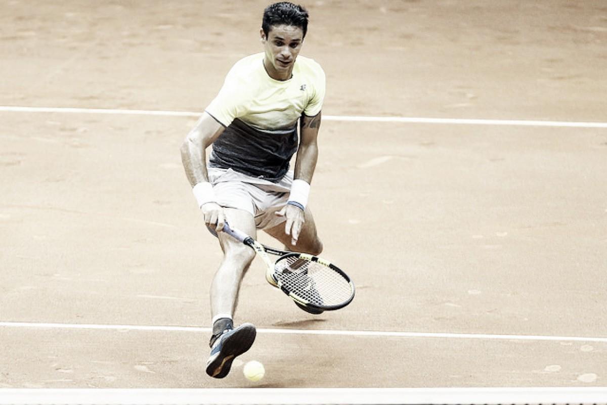 Rogerinho luta, mas é eliminado por Zeballos no Brasil Open