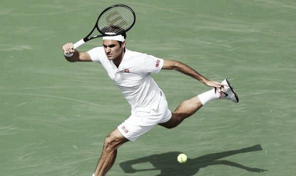 Federer ganó en su debut en Indian Wells