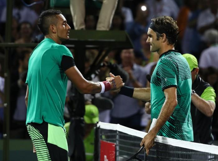 ATP - Miami Open 2017: parla Federer, tra Kyrgios e Nadal