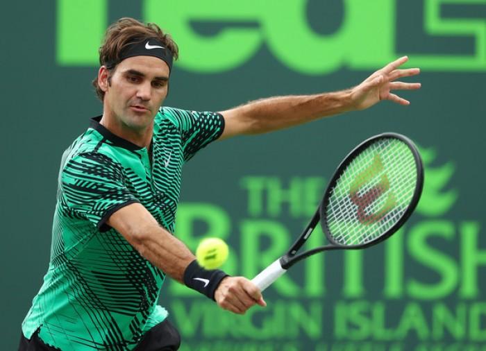 ATP - Miami Open 2017, il programma maschile: Federer - Del Potro sul Centrale
